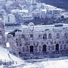 Odeon of Herodes Atticus, from Acropolis, Athens, 1973