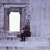 Allen at the Parthenon Athens 1973