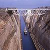 Corinth Canal, Greece, 1973