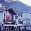 Village on road to Valberg, France, 1973