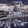 Monaco harbor, 1973