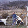 Car, French mountain village, 1973
