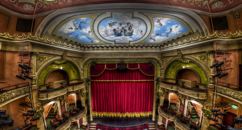 """The Colonial Theatre Stage"""