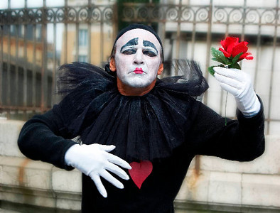 Mime With Rose - 2008 *