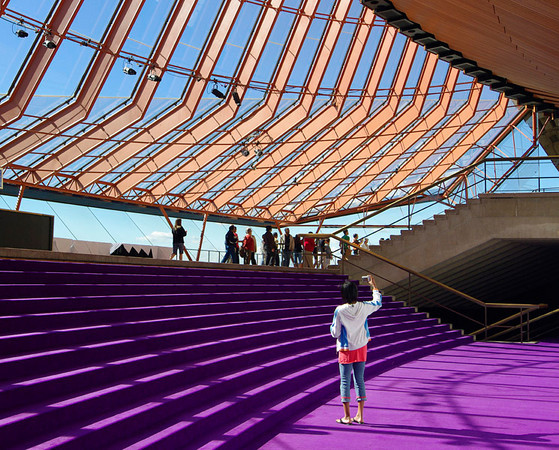 Sidney Opera House Interior - 2010