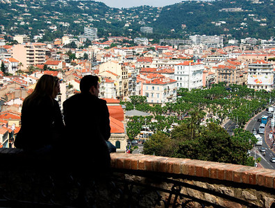 Overlooking Cannes - 2009