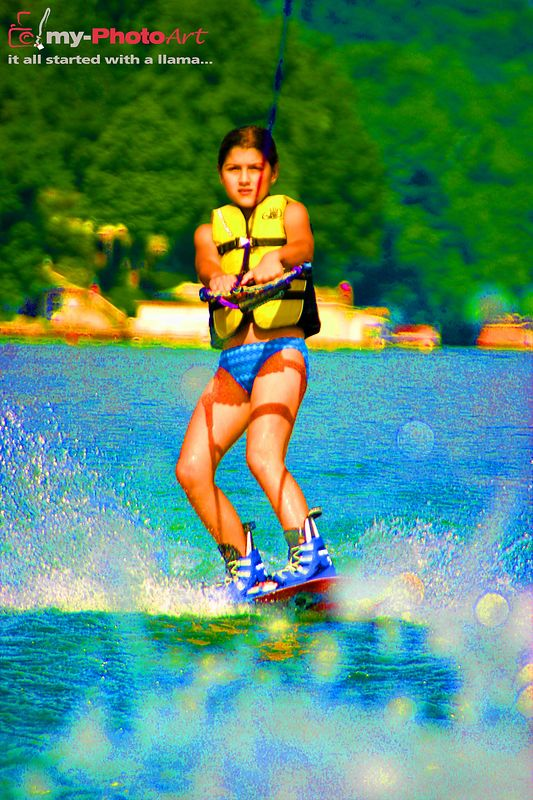 YOUR First Time On A Wakeboard.  Your Masterpiece!