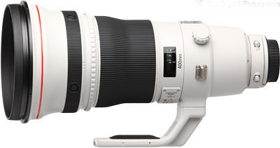 Canon EF 400mm f/2.8L IS II USM Telephoto Lens,  USA