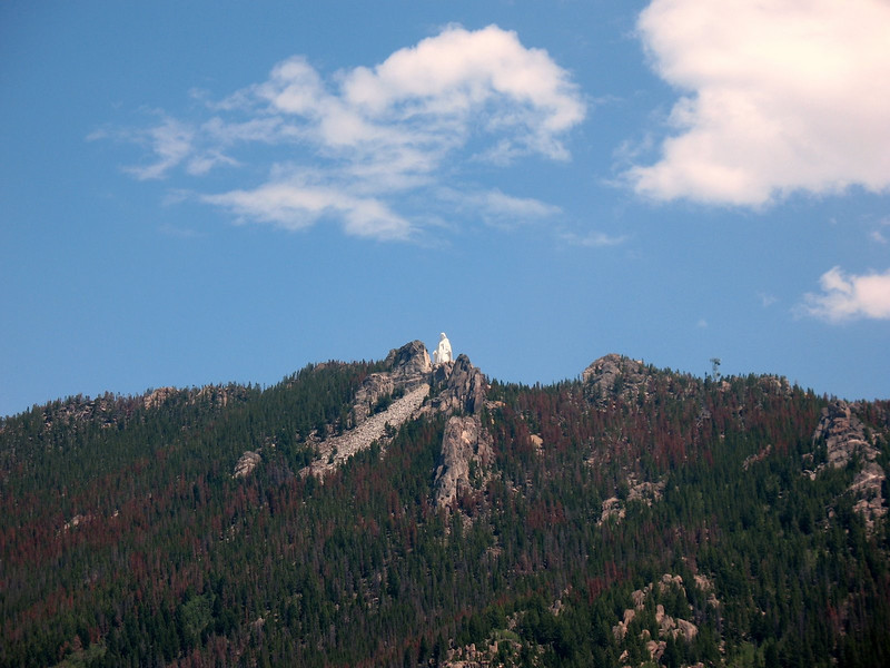 Our Lady of the Rockies Statue at 8,000 ft.