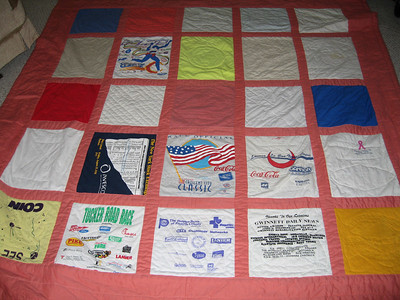 My Running T-Shirt Quilts