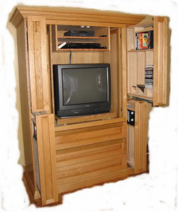 Dad's Wall Unit 2004 003 pic