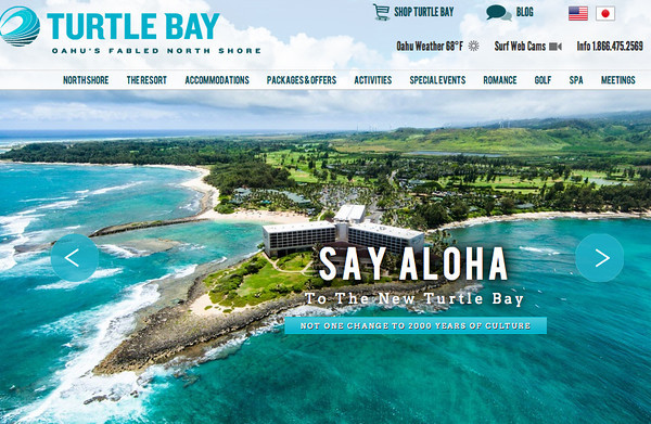 Turtle Bay Homepage