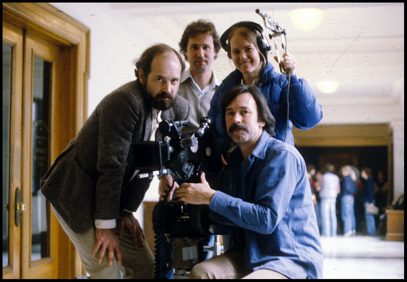 """""""A Family Affair"""", crew.  1980."""