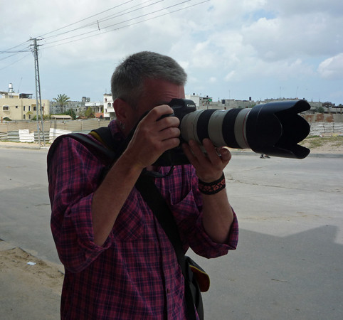 Myself - Beit Hanoun Gaza March 13th 2009