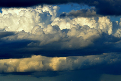 Storm clouds on the herizen