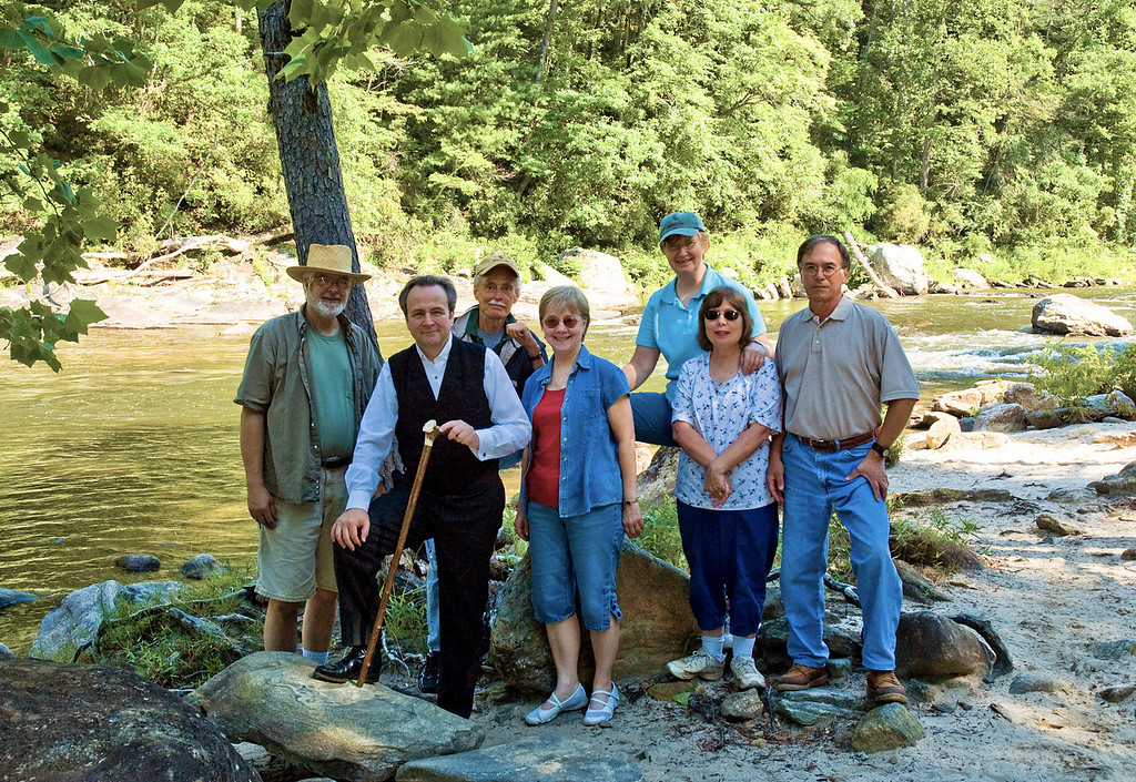 The Heritage video crew at the last location on the Chattooga River.