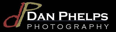 Dan Phelps Photo Logo Black