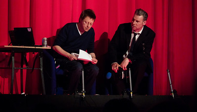 Simon Mayo and Mark Kermode (Hyde Park Picture House, Leeds)
