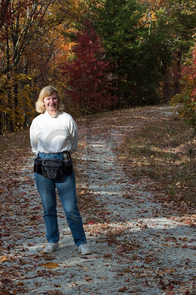 Bette Borman on fall photo shoot