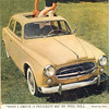 Peugeot 403 Phil Hill ad