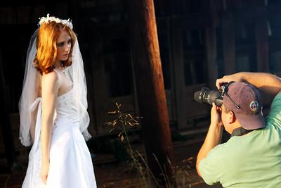 Paid model shoot-Cival War Battlefield, VA-September of 2009