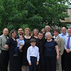 A family group shot after Charlie's memorial Mass, May 9, 2009. <br /> Dennis and Sara Smith, Sarah's holding Johnny Rodriguez, his dad, Ivan Rodriguez is behind him, then Ann Rodriguez, Brian Smith in front of Mary Gibson, Brandon Smith with his arm around his Gran, John is behind me holding Isabella Rodriguez, then Bradley Smith, with Patrick Wright-Gibson and David Wright-Gibson in front of him.