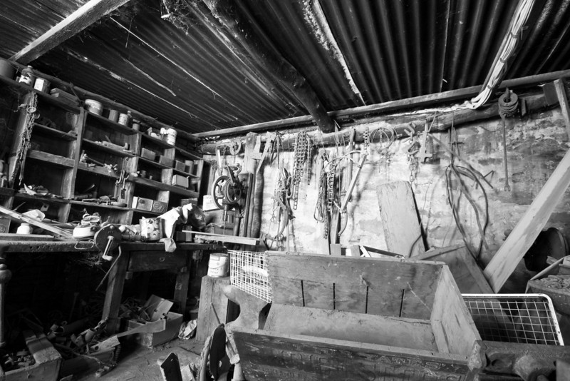 Old Shed - Days gone by....