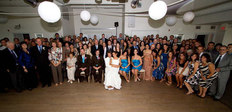 friends and family photo at Daria and Brian's Wedding. Sept. 26,2010