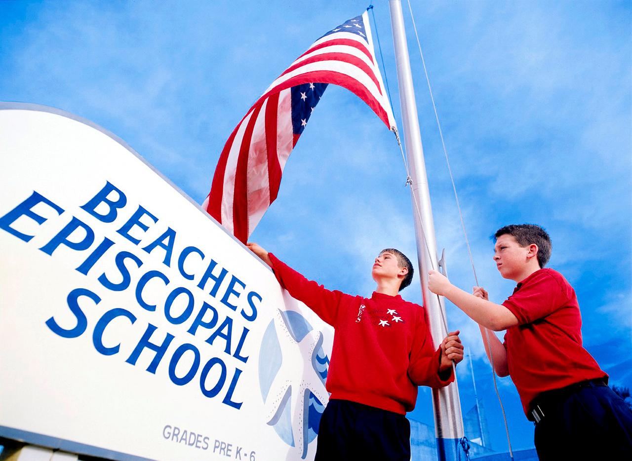 Flag Raising (revised)