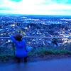Rina taking a scenic shot