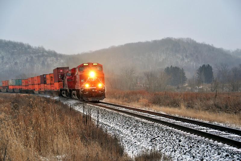 Winter Train - 08