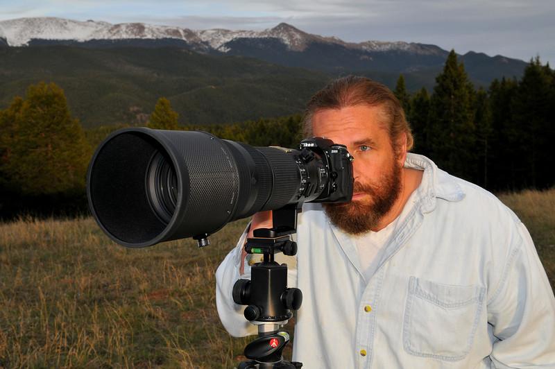 Photographer John Hoffman