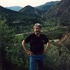 Ron in Ojai, CA, visiting the family, while working in Homer, Alaska, 1993