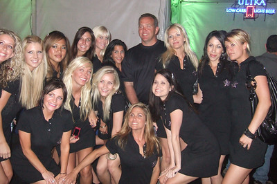 ATeam with Stan Humphries at Celebrity Golf Tournament VIP party