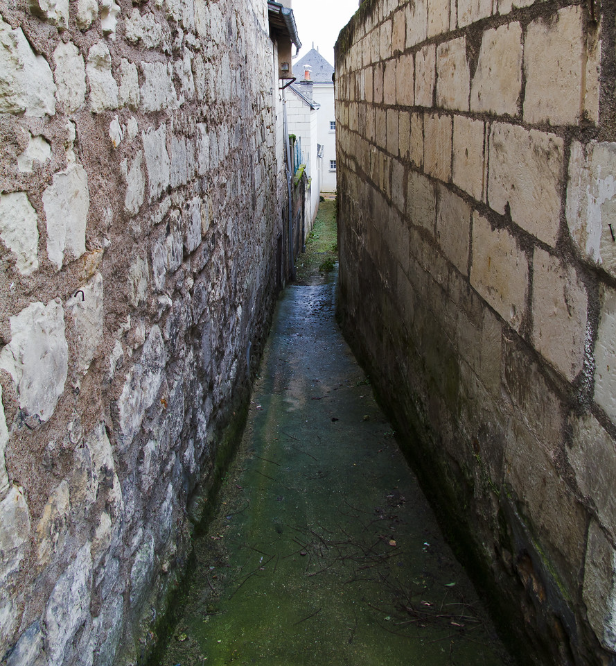 Candes Saint Martin_Loire_alleyway