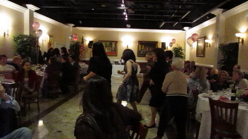 video of angie doing the electric slide