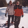 My son Cheyne and I in Tahoe for our annual family reunion at North Star on Super Bowl weekend.