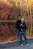 October 2008 Bushkill Falls pond, Pensylvania.  Photo taken by Gerry Ancherani (Dennis' Sister)