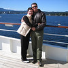 We're on a cruise ship outside Nanaimo, BC