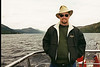 Cruising Scotland's Loch Ness in 2002 looking for the Loch Ness monster.
