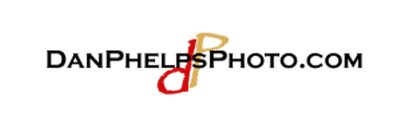 Dan Phelps Photo Logo Black big