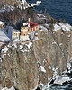 Aerial View of Split Rock Lighthouse taken in 2004