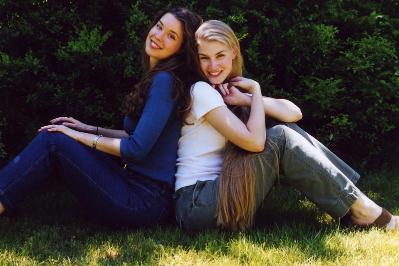Jenn & Kirsten, June 2000