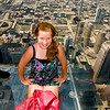 JJ on the Sears Tower Ledge Aug 2010
