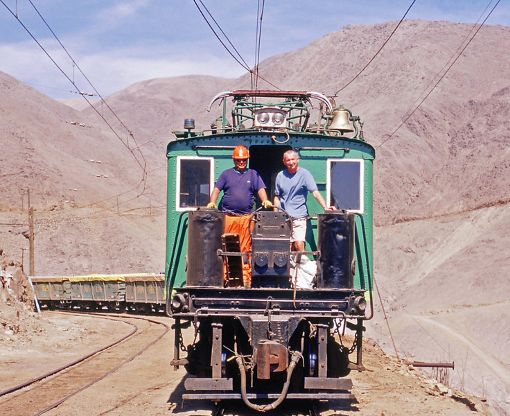 2004 on the FCTT at Quillagua, the conductor took the picture