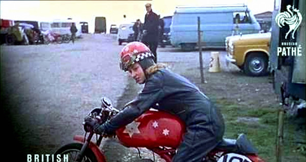 Beryl Swain - 1st Woman to compete in Isle of Man TT Race 1962