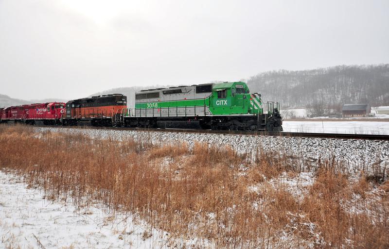 Winter Train - 01