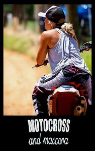 motocross and mascara