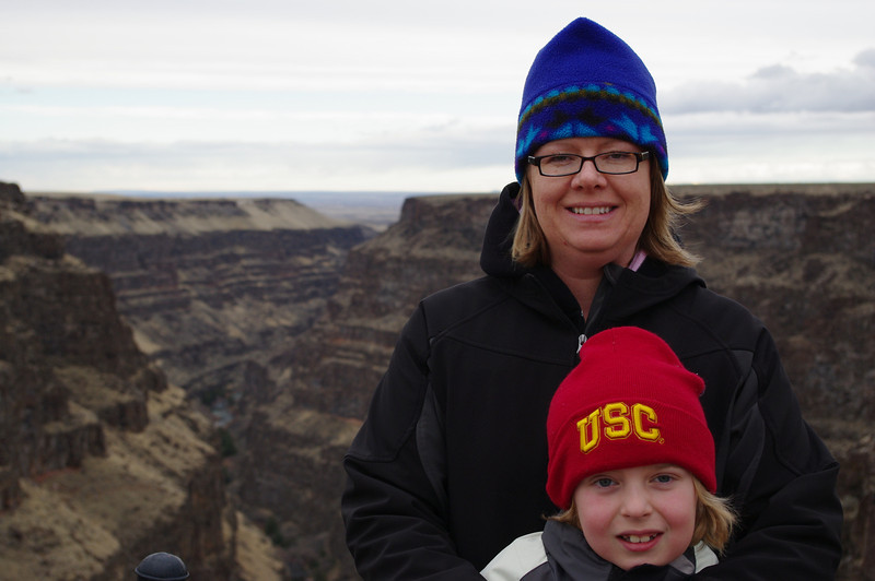 At Bruneau Canyon on my birthday