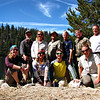 Backpacking team during Leave No Trace training. That's me second from the left.